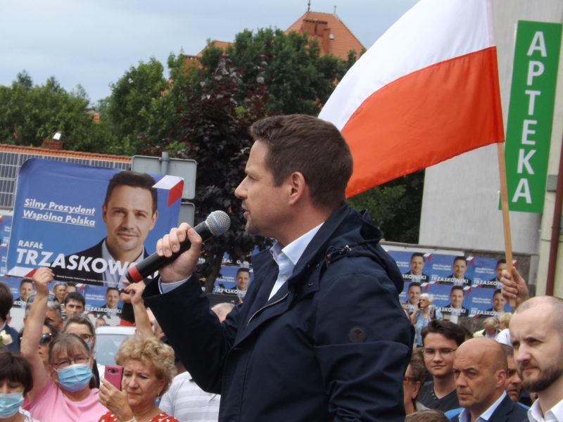 R. Trzaskowski w Wałczu