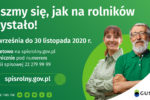 Rolniku! Trwa Powszechny Spis Rolny 2020. Spisz się – to Twój obowiązek!