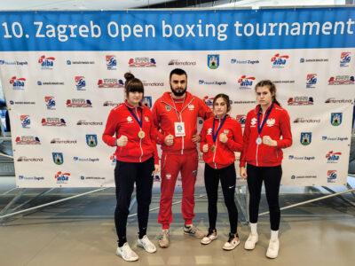 3 medale w Zagrzebiu